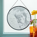 Personalised Glass Framed Photograph