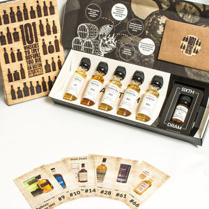 '101 Whiskies' Tasting Set And Book - new in food & drink