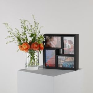 Set Of Five Wooden Wall Or Table Photo Frames