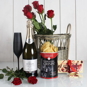 The Perfect Night In Prosecco Gift Hamper - champagne & prosecco