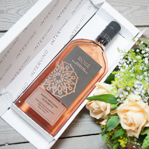 Letterbox Personalised Rose Wine - best mother's day gifts