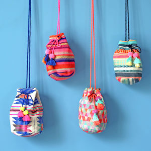 Mini Boho Bucket Bag - the mexicana collection