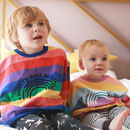 Merry And Bright Kids Rainbow Jumper