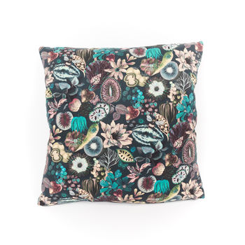 Liberty Print Cushion Earthly Delights