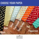 choose the colour giftwrap