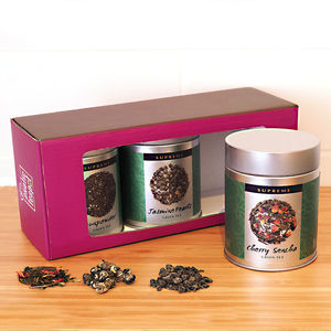 Green Tea Triple Selection Gift Box - tea & infusions