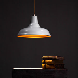 Lenny Factory Pendant Light - living room