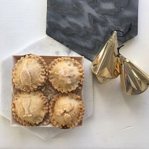 Four Personalised Gluten Free Prosecco Mince Pies - what's new