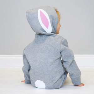 Bunny Rabbit With Ears Children's Onesie