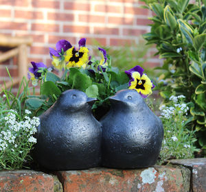 Two Birds Planter - pots & planters
