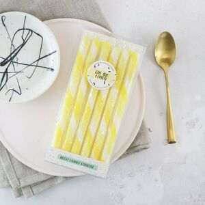 Gin And Lemon Drink Stirrers
