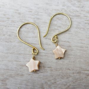 Tiny Star Earrings - earrings