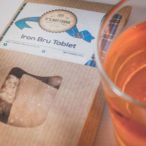 Iron Bru Tablet - chocolates & confectionery