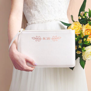 Personalised Bridesmaid Wristlet