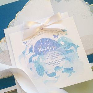 Noah Invitation - invitations