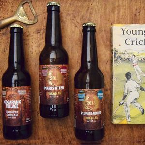 Book And Three Whisky Aged Beers Gift Set