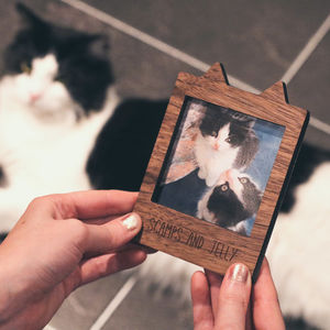 Personalised Cat Magnetic Frame