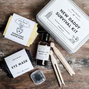 New Daddy Survival Kit - gifts for him sale