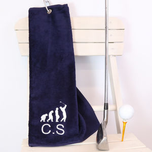 Personalised Tri Fold Golf Towel