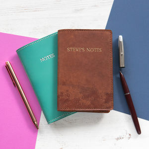 A6 Leather Moleskine Notebook Cover