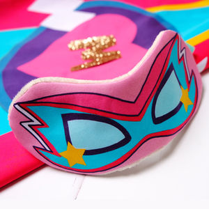 Superhero Eye Mask - bedroom