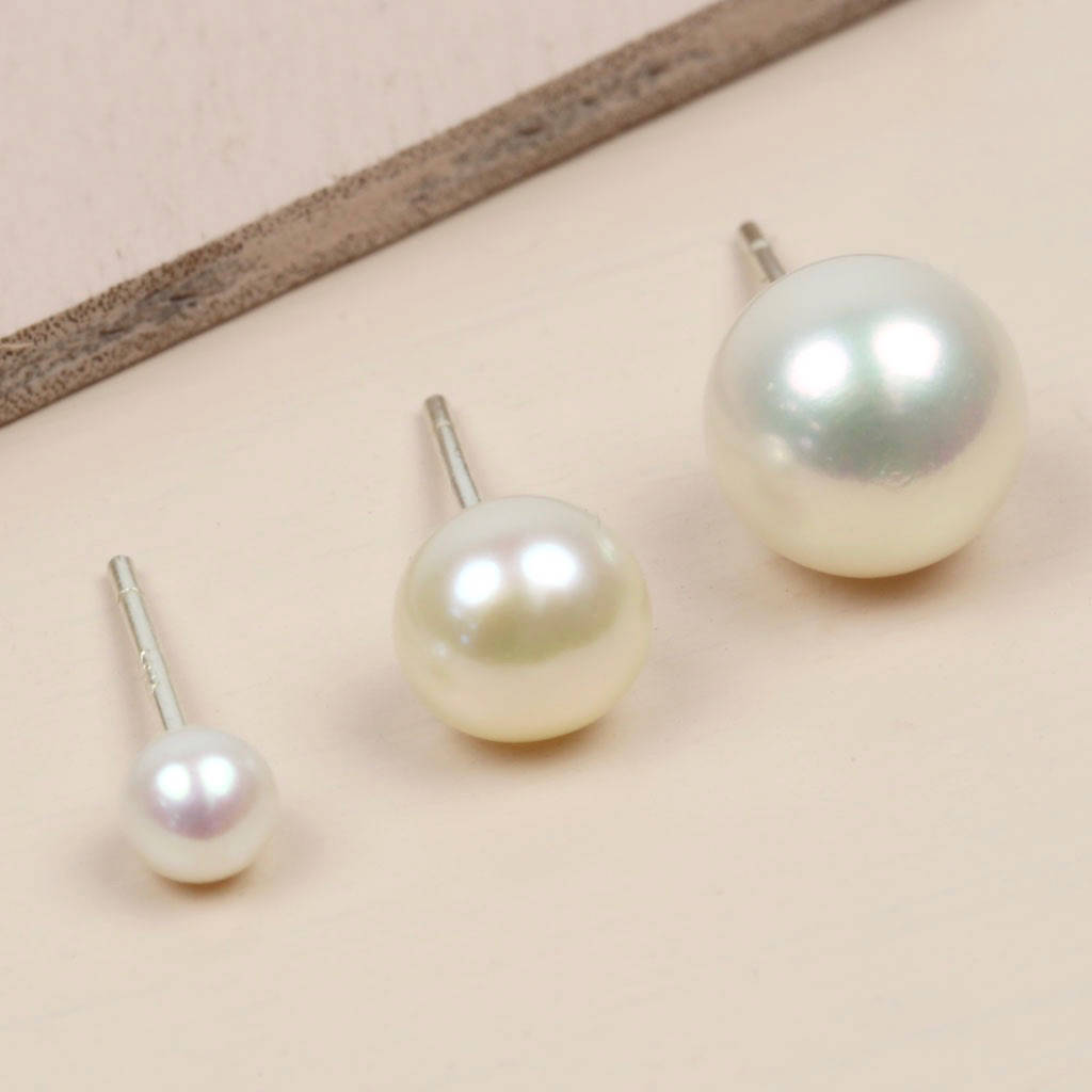Pearl Earring Sizes