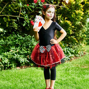 Queen Of Hearts Tutu Set: 3 To 11 Years