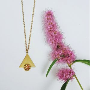 Elara Geometric Necklace