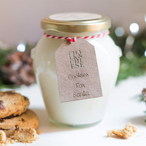 50 Hours Burning Time Christmas Cookies Jar Candle