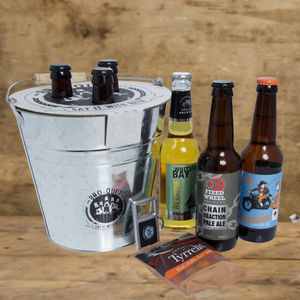 Beer Bouquet Gift Hamper / Set - wines, beers & spirits
