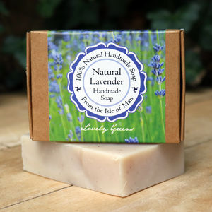 Handmade Palm Oil Free Lavender Soap