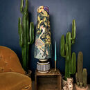 Paradise Lost Oversized Cone Velvet Lampshades
