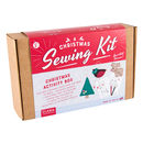 Christmas Activity Box Sewing And Colouring Kit