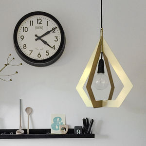 Drop Metal Link Lampshade - ceiling lights