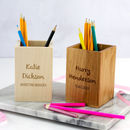 Personalised Office Pen Pot