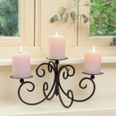 Timeless Charm Candelabra Centrepiece With Candles