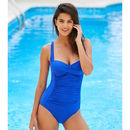 Electric Blue Twist Moontide Swimsuit