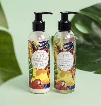 Green Opal Fruits Wash And Lotion Set