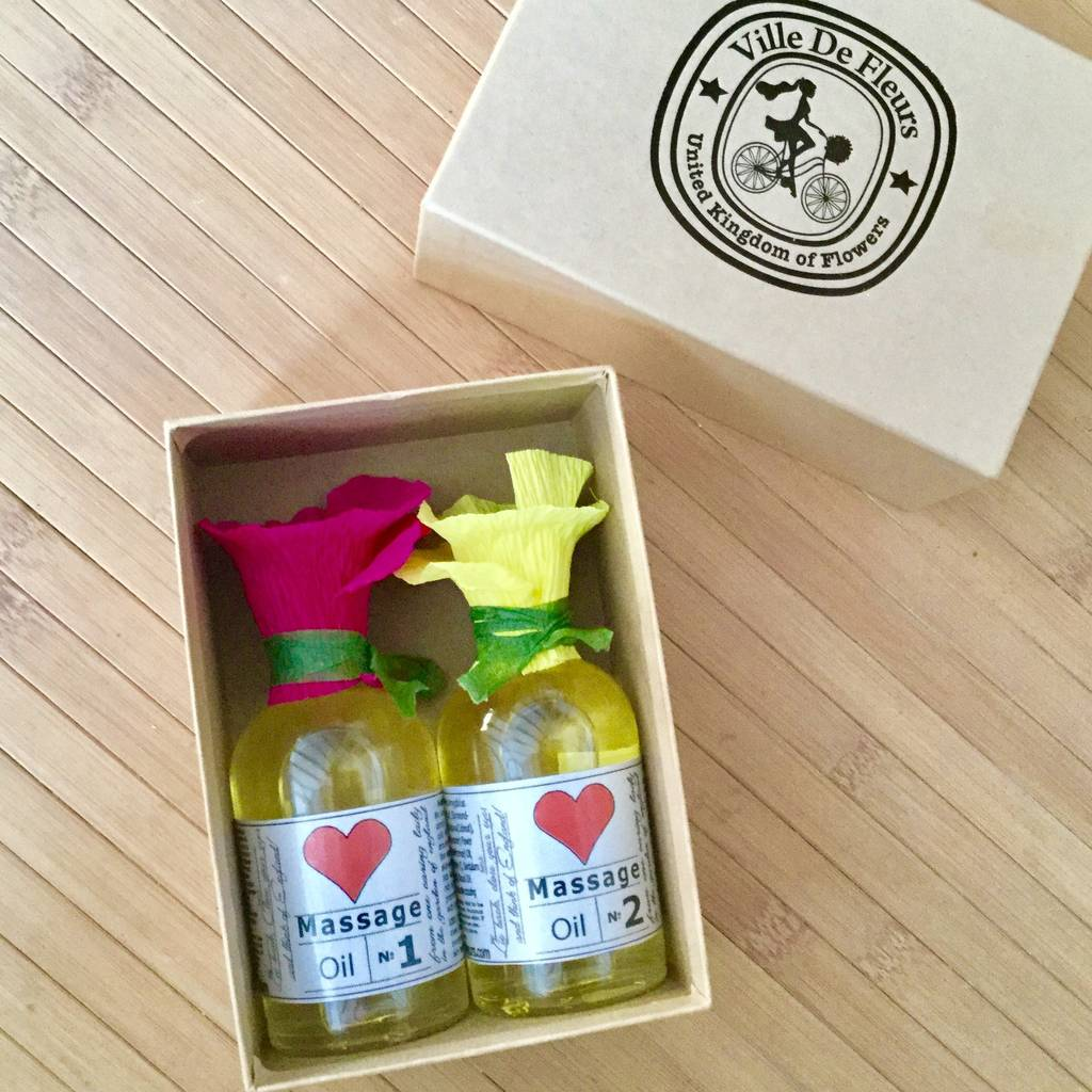 Massage And Body Oils Pampering Skincare Gift Set