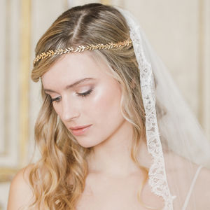 Leaf Hair Vine - wedding jewellery