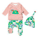 Rainbow Farm Three Piece Baby Set
