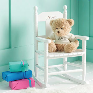 Personalised Child's Rocking Chair - christening gifts