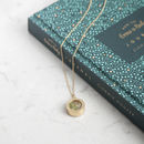 Birthstone Locket Necklace