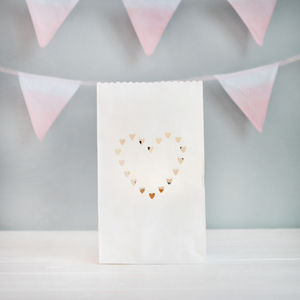 Love Heart Paper Lantern Decorations
