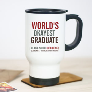 Graduation Travel Mug - graduation gifts