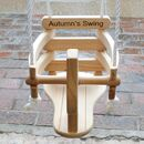 Personalised Wooden Horse Swing For Babies And Toddlers