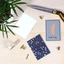 Woodland Set Of 10 Mini Notecards