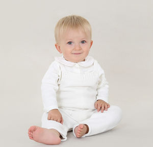 Baby Boy Winter Christening Knitted Two Piece