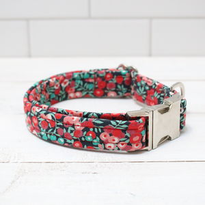 Coco Liberty Fabric Dog Collar