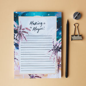 A5 Making Magic Notepad - notepads & to do lists
